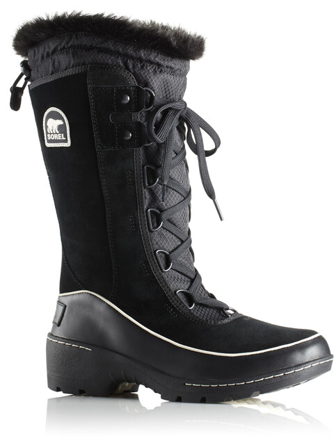 Sorel W's Torino High Boots Black/Light Bisque